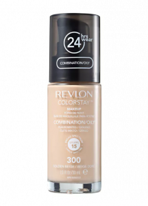 Base Líquida Colorstay Pump Oleosa Golden Beige 300 - Revlon