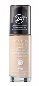 Base Líquida Colorstay Pump Oleosa Natural Beige 220 - Revlon