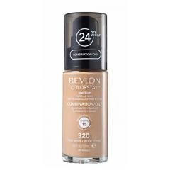 Base Líquida Colorstay Pump Oleosa True Beige 320 - Revlon
