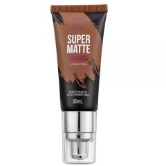 Base Líquida Super Matte RK by Kiss - Chocolate