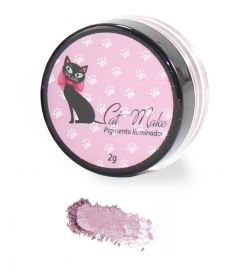 Pigmento Iluminador Cor Rose 09 - Cat Make