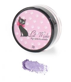 Pigmento Iluminador Cor Lilac 14 - Cat Make