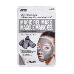 Máscara Facial Magic Gel Kiss NY - Carvão