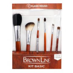 Kit de Pincéis Brown Line - Basic - Klass Vough
