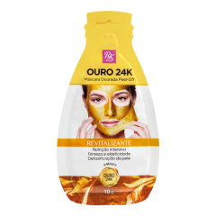 Máscara Dourada Facial RK by Kiss Ouro 24k -10 gr.