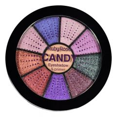 Mini Paleta De Sombras Candy - HB 9986-2 - Ruby Rose