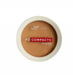 Pó Compacto Beige - Luv Beauty