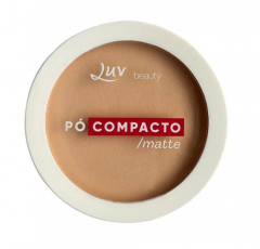Pó Compacto Porcelain - Luv Beauty