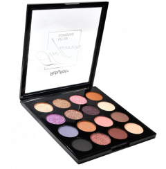 Paleta De Sombras The Flowers - HB1018 - Ruby Rose