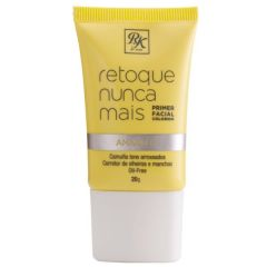 Primer Facial HD Retoque Nunca Mais RK by Kiss - Color Amarelo