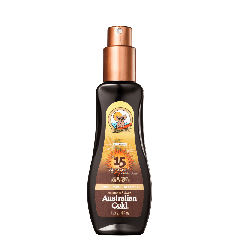 Protetor Solar Spray Gel Instant Bronzer FPS 15 - 125 ml - Australian Gold