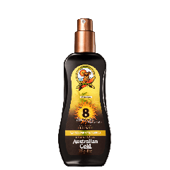 Protetor Solar Spray Gel Instant Bronzer FPS 8 - 237 ml - Australian Gold