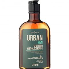 Shampoo Antioleosidade IPA 240ml - Urban Men - Farmaervas