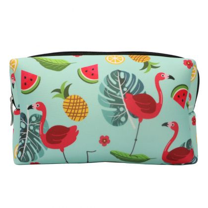 Necessaire em Neoprene Sunset Collection - Flamingo