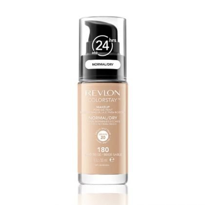 Base Líquida Colorstay Pump Normal/Seca Sand Beige 180 - Revlon