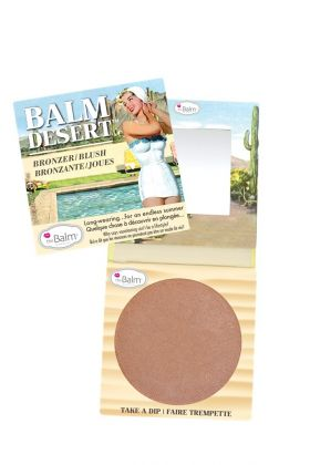 Blush e Bronzer Balm Desert  - THE BALM