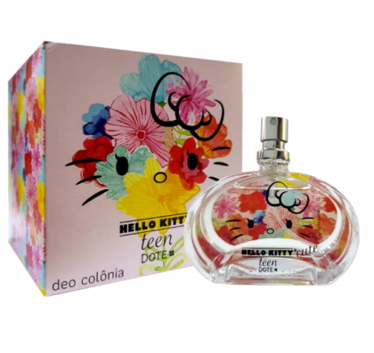Deo Colônia Hello Kitty Teen by Dote - Cute 50ml HK