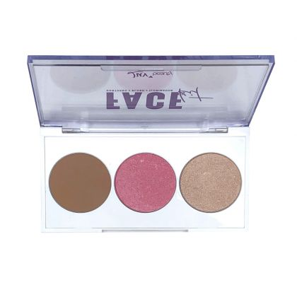 Face Kit - Paleta de Maquiagem - Luv Beauty