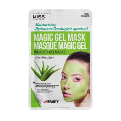 Máscara Facial Magic Gel Kiss NY - Aloe