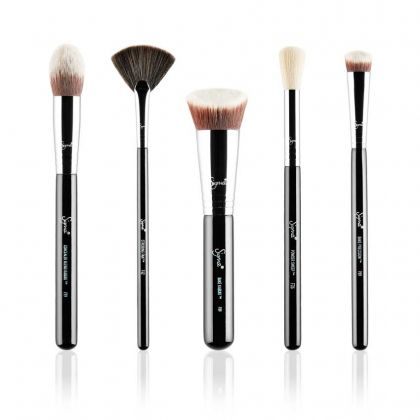 Baking and Strobing Brush Set | Kit com 5 pincéis Sigma
