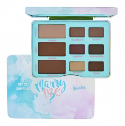 Kit de Sombras Marry Me L1053 Cor B - Luisance