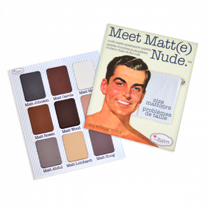 Paleta de Maquiagem Meet Matt(e) Nude Eye Shadow Palette - THE BALM