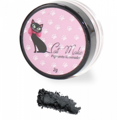 Pigmento Iluminador Cor Grey 05 - Cat Make
