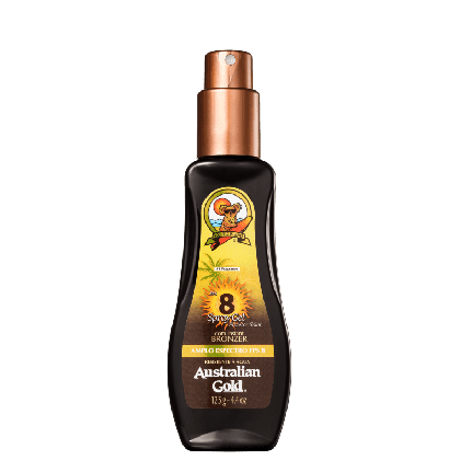 Protetor Solar Spray Gel Instant Bronzer FPS 8 - 125 ml - Australian Gold