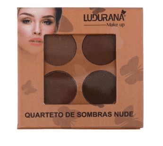 Quarteto de Sombras Matte Nude 1 - Ludurana