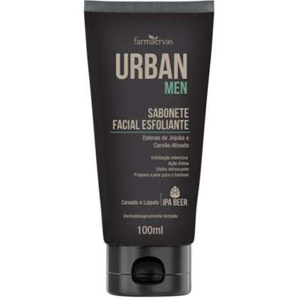 Sabonete Facial Esfoliante IPA  -  Urban Men - Farmaervas