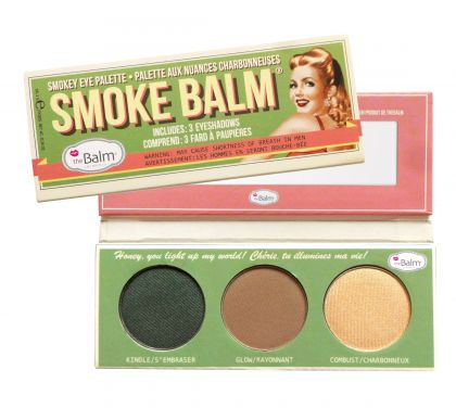 Paleta de Sombras Smoke Balm 2  - Glow, Kindle, Combust - THE BALM