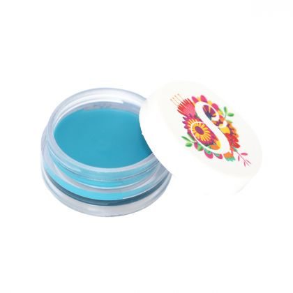 Sombra Cremosa b.Beauty Shadow Cream - Azul Turquesa 17 - Suelen Makeup