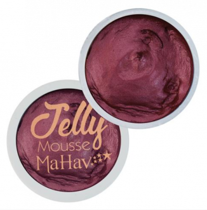 Sombra em Gel Jelly Mousse Cor Ruby Red - Mahav