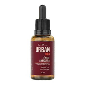 Tônico Capilar Antiqueda IPA 30ml -  Urban Men - Farmaervas
