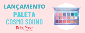 Confira a nova Paleta Ruby Rose