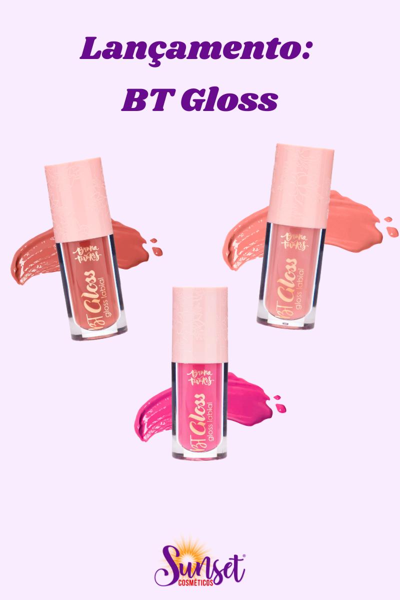 Lançamento: novas cores e embalagem do BT Gloss