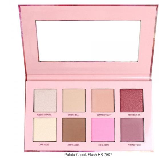 Paleta Cheek Flush HB 7507 - Ruby Rose