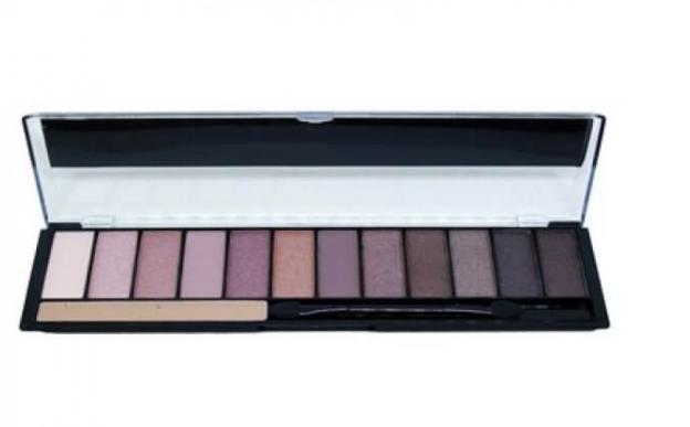 Paleta de Sombras Blushed Nude Com Primer- HB9913 - Ruby Rose
