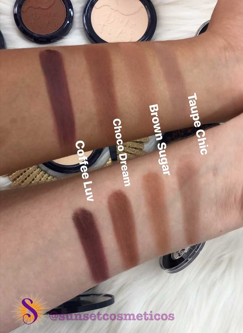 Swatch BT Blush Contour - Blush e Contorno cor Coffee Luv - Bruna Tavares