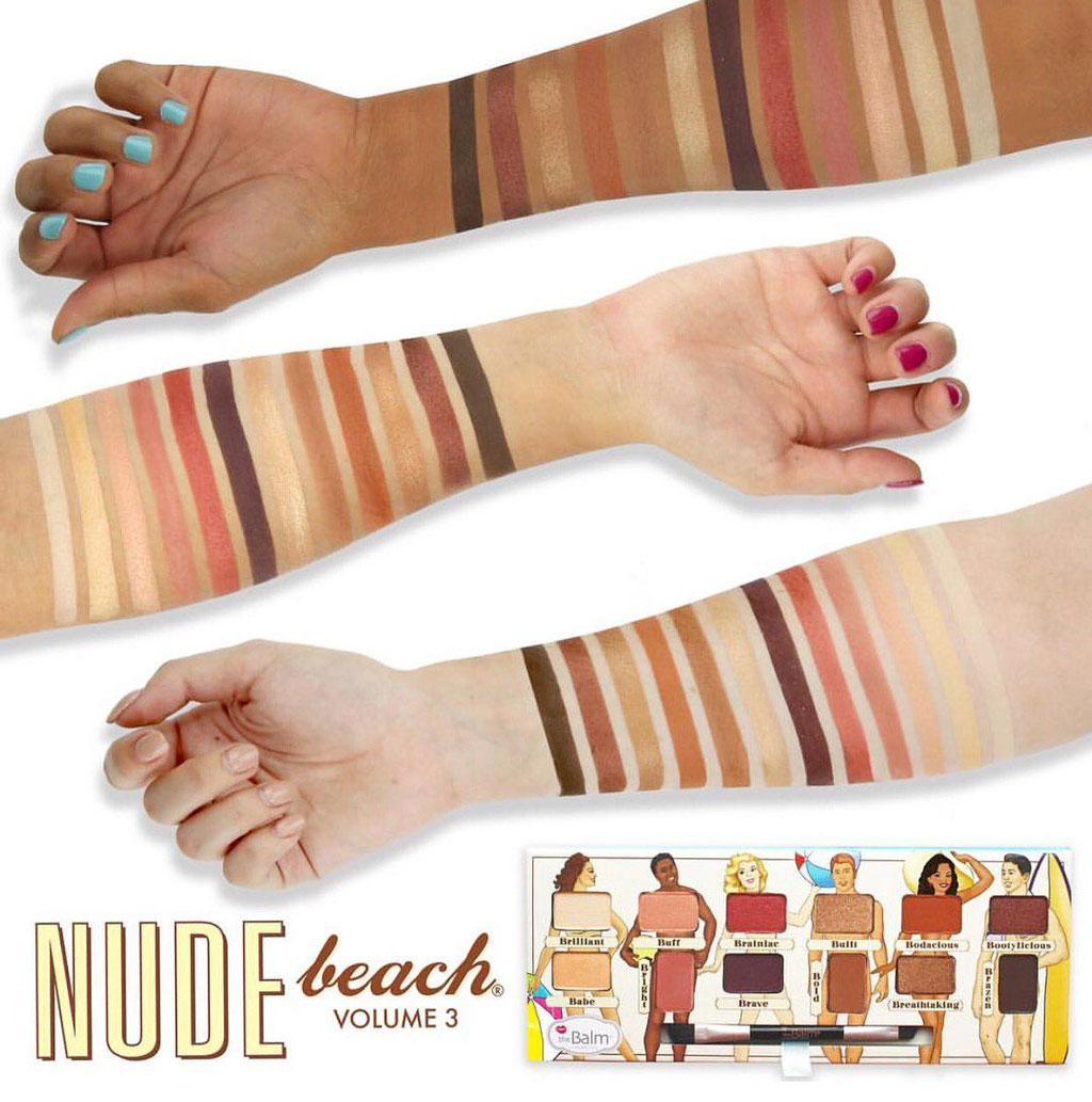 Paleta de sombras Nude Beach - THE BALM